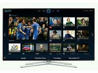 "Samsung 32"" LED smart 3D wifi built USB MEDIA PLAYER HD FREEVIEW and freesat Screen"