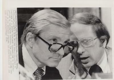 Medicaid  Sen  Charles Percy Confers With Sen  Sam Nunn  Wire  Press Photo