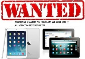 SALE YOUR OLD, NEW  IPAD ►ANY QUATITY ►OPEN 7 DAYS ►WE BUY ON T