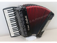 DINO BAFFETTI Studio II 72 Bass Piano Accordion