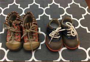Lot of size 3 baby boy shoes $7 each /All $10