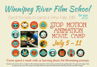 Stop Motion Animation Summer Sleepover Camp