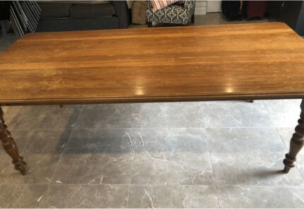 Dining table solid timber.   Must sell....  urgent