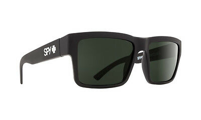 Spy Montana Soft Matte Black w/ Happy Grey Polarised - Free Express Post