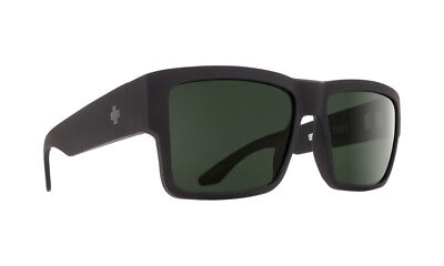 Spy CYRUS  Soft Matte Black w/ Happy Grey Polarized - Free Express Post
