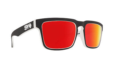 Spy HELM Matte Black White Whitewall w/ Happy Red Spectra Sunglasses