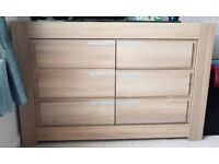 Ikea cabinate with 3 chest of drawer