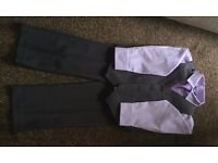 Boys 3 piece suit Age 5-6