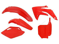 New CRF 150 07-15 Plastic Kit Motocross Plastics All Red Inc Front Plate