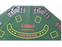 Poker Table Tops & Chip Holders + Carry Case