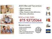 MAN&VAN SERVICES ESSEX BASED REMOVALS AND DELIVERIES SAME DAY UK AND OVERSEAS