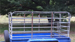 Stock Crate / Trailer Cage Stirling Adelaide Hills Preview