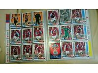 Match Attax cards from the 2014-15 season