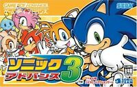Gameboy Advance Game - Sonic Advance 3
