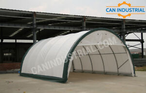 20x30x12 - Portable Fabric Storage Building Tent Temp Shelter