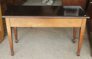 Vintage Organ/Piano Bench With Lift Top Seat