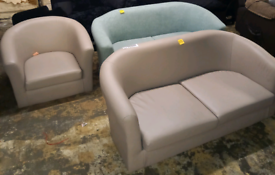 Tub chairs £35. £50. No Legs ex display. RBW Clearance Outlet Leiceste