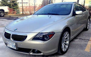 2007 BMW 650CI, Navigation, heads up Display, DVD,Panoramic,