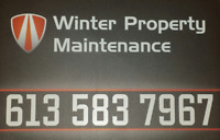 Snow Plowing & Winter Property Maintenance