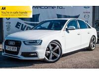 2013 AUDI A4 2.0 TDI S LINE BLACK EDITION! BANG & OLUFSEN SPEAKERS! FULL AUDI HI