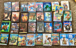 Kids dvd movies. 30 plus movies