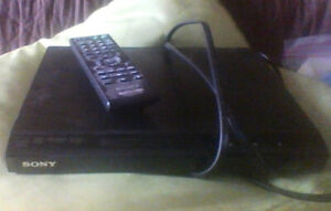 Basic Sony DVD Player and 18 Movies