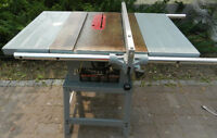 Table Saw with Delta 1.5 hp Motor