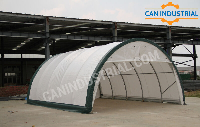 Temporary Industrial Shelters : Portable fabric buildings storage shelters temporary