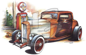 Hot Rod And Classic Tee Shirts NEW