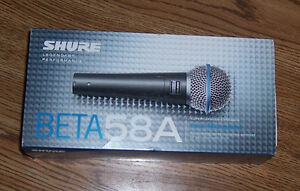 Shure Beta 58A (New)