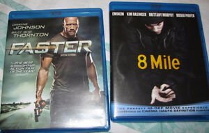 8 Mile & Faster blu ray