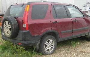 Parting out 2003 Honda CRV-