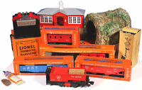 Vintage Lionel Train Set - Featuring 'The Log Ejector Engine'