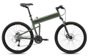 Montague paratrooper Folding Mountain bike never been ridden!