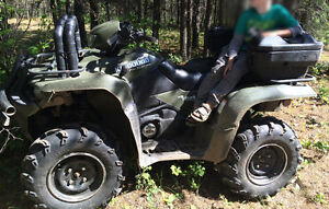Just in time for hunting 2007 Suzuki King Quad 700