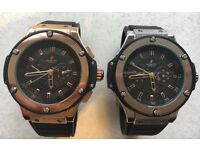 BRAND NEW HUBLOT ROLEX MICHAEL KORS HUGO BOSS ARMAI TIFFANY APPLE AP GUCCI RARE LIMITED