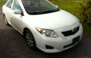 2010 Toyota Corolla Sedan Mint CERTIFIED, E-TESTED