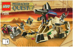 Lego Pharoah's Quest 7326 Rise of the Sphinx New in box