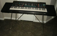Yamaha PSR-4600 Keyboard with stand, manuals, cables