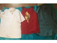 Men's size medium bundle of clothes