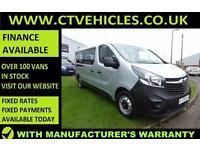 2016 16 plate Vauxhall VIVARO COMBI CDTI S/S Bi-turbo A/C LWB MINIBUS