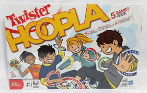 Twister Hoopla New in Box Toss-Tangle-Scatter-Race Twisted Game