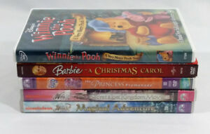 5 DVD Bundle, Winx, Barbie, Winnie the Pooh, My Little Pony