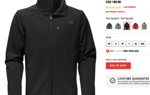 NORTHFACE XL BLK MANS JACKET