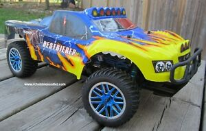New RC Short Course Truck Brushless Electric LIPO 2.4G RTR