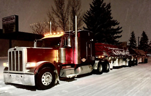 2013 Peterbilt and 2015 btrains