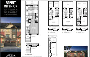 BRAND NEW TOWNHOME – 3 Bedroom + 2.5 Bath Townhome