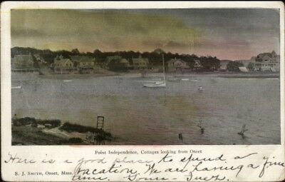 Onset Cape Cod Ma Point Independence C1905 Postcard  5