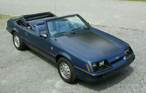 MUSTANG LX 1986 DECAPOTABLE