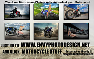 Motorcycle Photography & Artwork